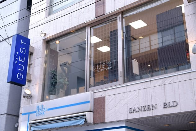 安倍首相が通う美容院「HAIR GUEST」