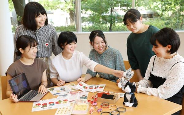 津田塾大学の梅五輪プロジェクトのメンバー(東京都渋谷区)