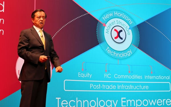 香港取引所の李小加CEOは買収断念に悔しさをにじませた