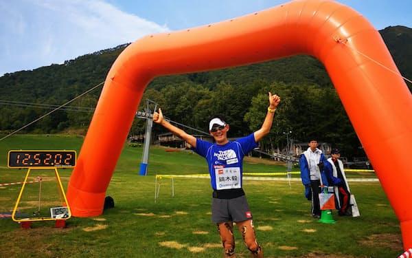 体のあちこちにダメージを抱えながら北海道留寿都村のレースにゲスト出場