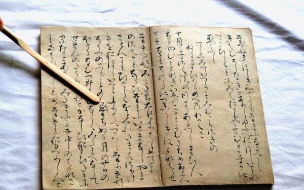藤原定家本・源氏物語「若紫」には定家本人が手を加えたとみられる校訂箇所がある