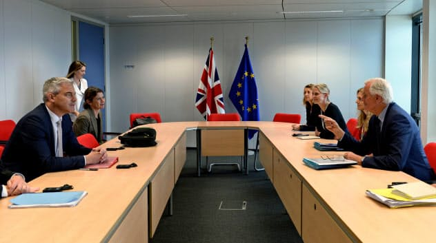 EUと英国は合意に向けて協議を続けているが……=ロイター