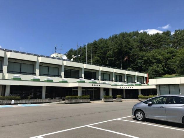 葛尾村役場(福島県葛尾村)
