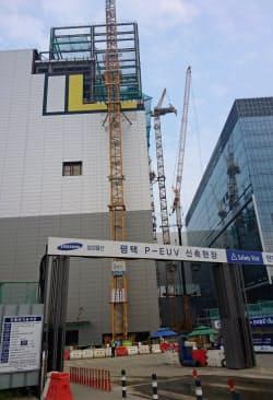 ソウル郊外の平沢市では第2工場の建設が進む