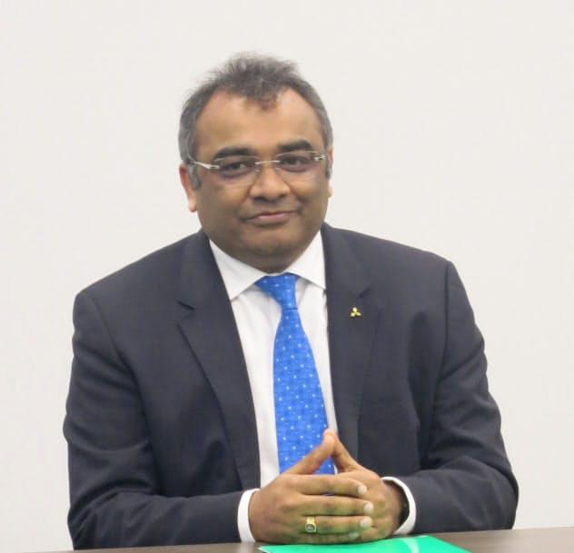 アシュワニ・グプタ氏は世界車メーカー4社で勤務経験がある業界のプロだ