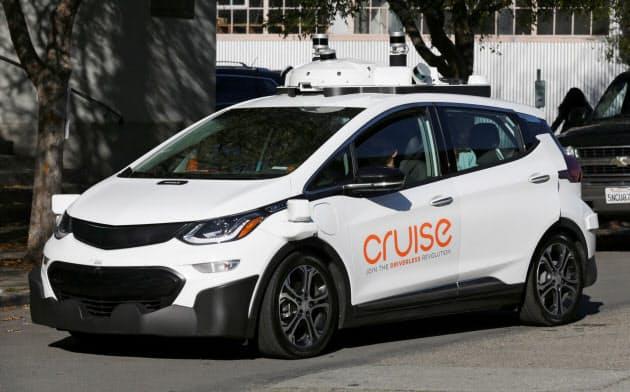 米ゼネラル・モーターズ(GM)傘下のGMクルーズは自動運転技術を開発している=ロイター