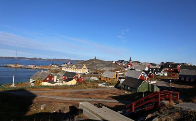グリーンランドの首都ヌーク