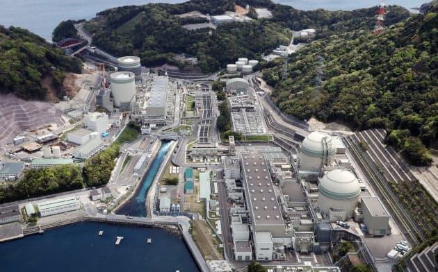 関西電力の高浜原発(福井県高浜町)