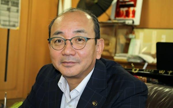 富山県南砺市 田中幹夫市長