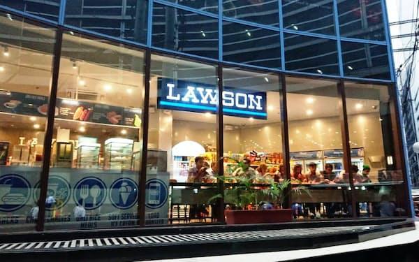 ローソンはフィリピンでの出店を加速する(フィリピン国内の店舗)