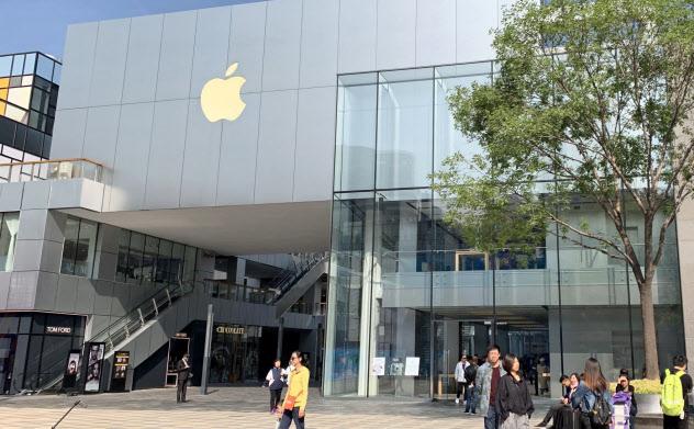 アップルの北京市内の販売店