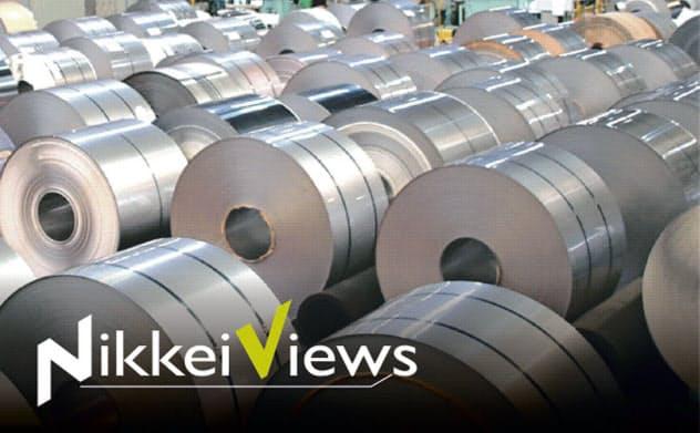 ニッケルはステンレス鋼やリチウムイオン電池に使われる
