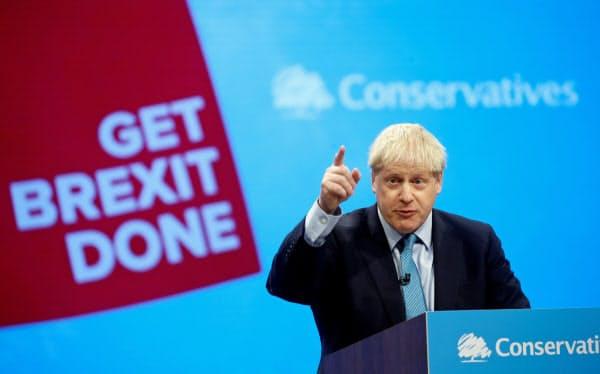 ジョンソン英首相は「合意なき離脱」も辞さない立場を維持してきた=ロイター