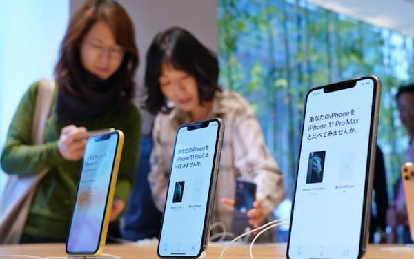 9月に発売したiPhone11もWi-Fi6に対応する