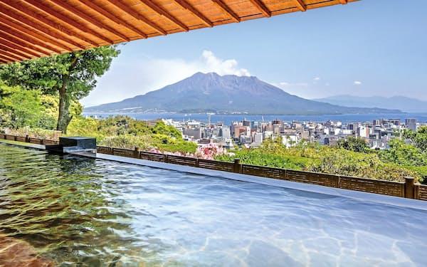 リンベルはカタログギフト大手として景勝地での宿泊券なども取り扱っている(鹿児島県のホテル)