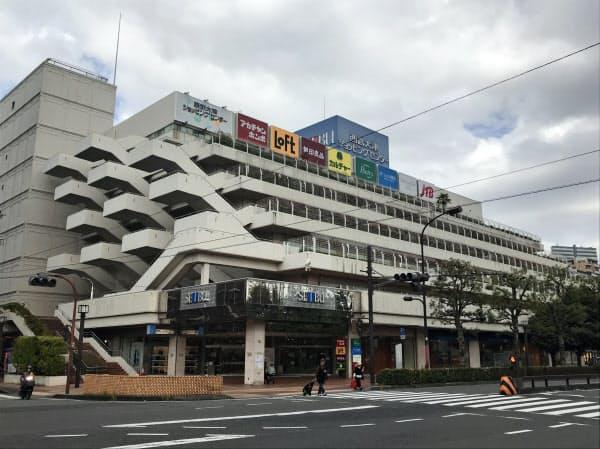 20年8月末で閉店する西武大津店