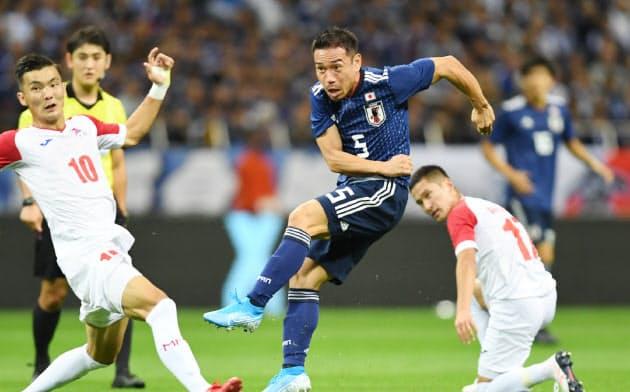 日本、モンゴルに6―0 W杯2次予選で2連勝