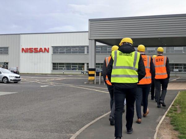 日産サンダーランド工場は英自動車生産の3割を占める(10日)