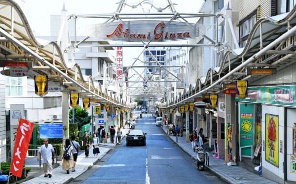 熱海銀座商店街での空き店舗解消を進める