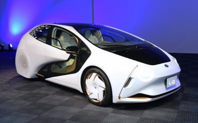報道公開されたトヨタ自動車のコンセプトカー「LQ」