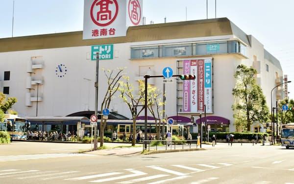 高島屋が閉店を発表した港南台店(横浜市)