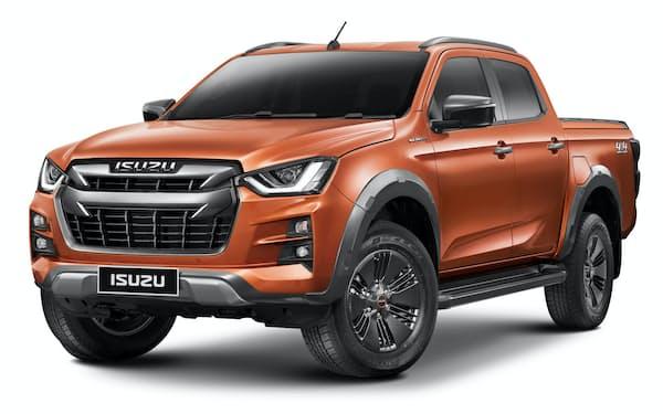 いすゞ自動車が11日発表した新型ピックアップトラック「D-MAX」