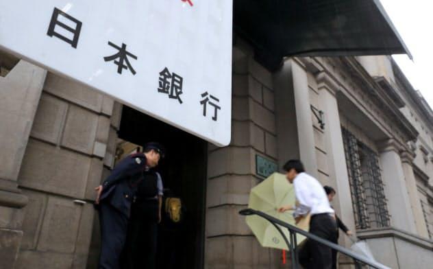 日銀は海外経済のリスクへの警戒を強めている(写真は日銀本店)