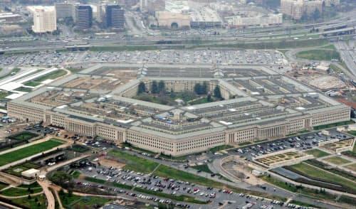 米国防総省(ワシントン)=AP