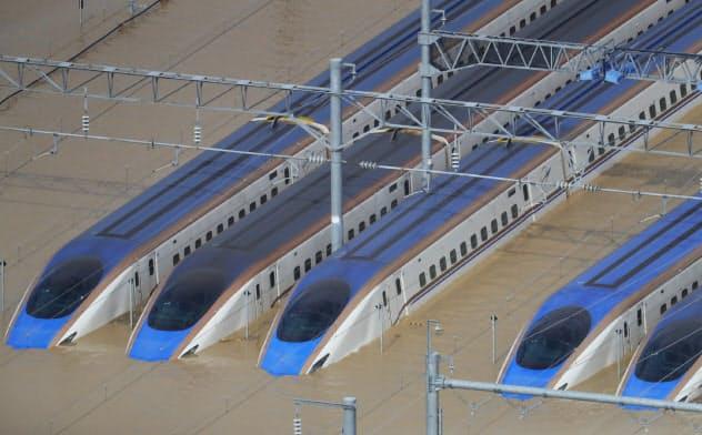 JR東日本、新幹線基地約10メートルかさ上げ 浸水対策