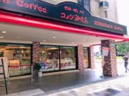 8月に台湾で初のFC店を開いた(台北市)