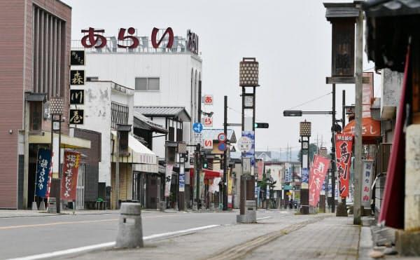 那珂川町の中心商店街とも集客で連携する