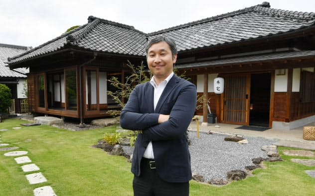 高級ホテル「飯塚邸」で個人客の獲得にも乗り出す