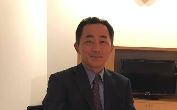 CBRE日本法人社長の坂口英治氏