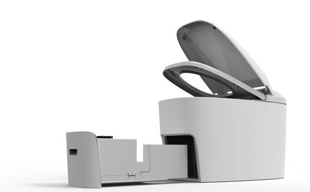 幾何科技のスマートトイレ(同社提供)
