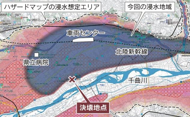 台風19号、想定された浸水 活用途上のハザードマップ