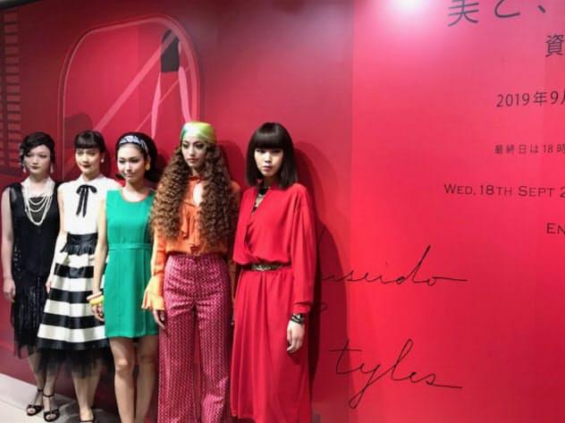 美の変化トレンドは変わるが、日本人の美意識は普遍(高島屋日本橋店での資生堂のイベント)