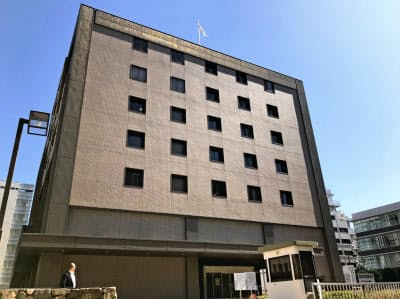 高松高裁(16日、高松市)