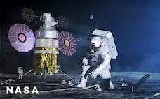 日本、米の月探査計画に参加 同床異夢の思惑