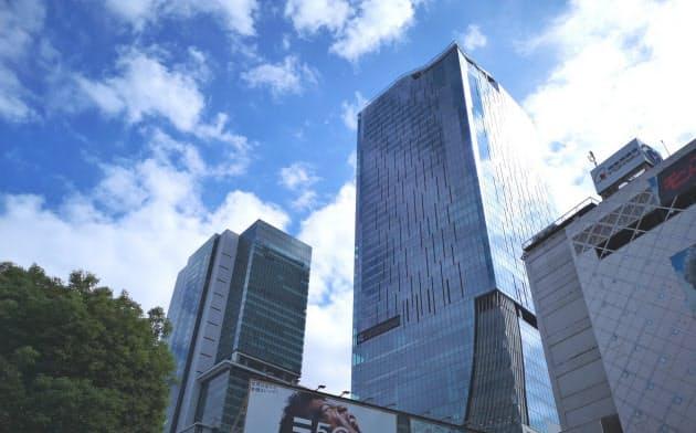 日本一のオフィス街は渋谷 賃料で千代田区を抜く