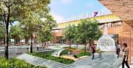 セントラル・パタナがタイ中部アユタヤ県に開発予定の複合施設「セントラルプラザ・アユタヤ」(完成イメージ)
