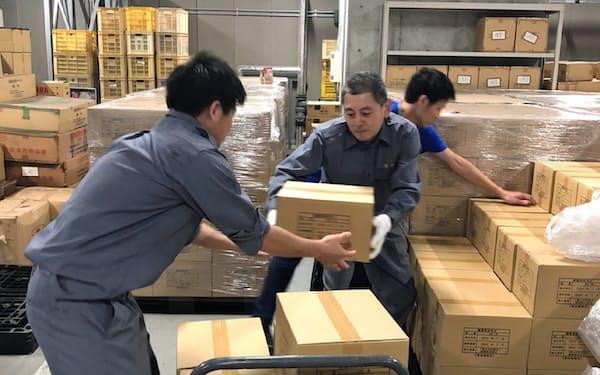 東京都港区は福島県いわき市に支援物資として飲料水を送った