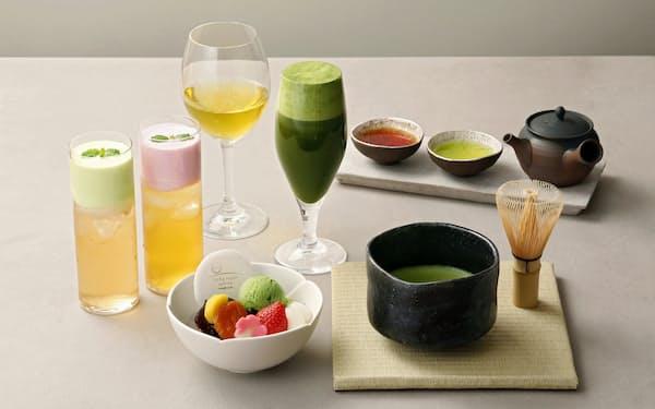 伊藤園は東京・渋谷の新業態店でお茶をテーマにしたオリジナルメニューを提供する
