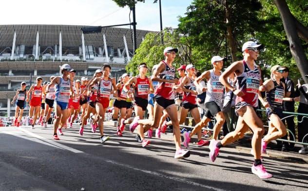 東京五輪のマラソン、札幌開催を検討 IOC