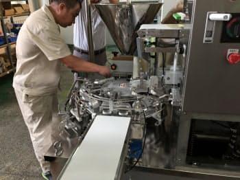 東亜自動化設備(大連)で造るギョーザ製造機は中国などに販売する。