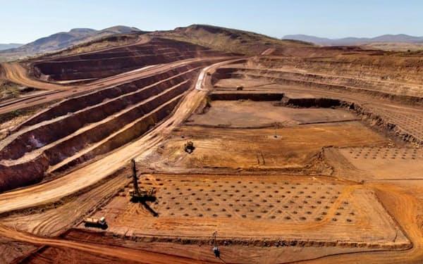 豪州の鉄鉱石鉱山=リオ・ティント提供