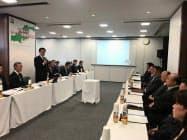 セブンはFC加盟店との意見交換会を初めて開催した(17日、広島市)