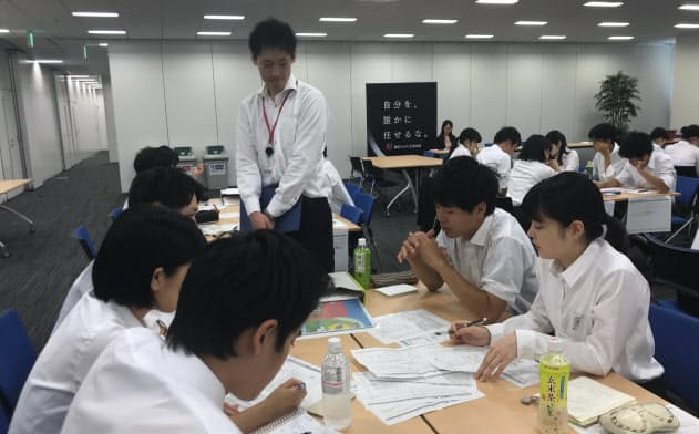 インターンシップを実施する企業が増えてきた(東京都中野区)