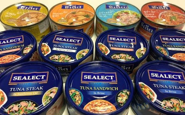 タイ・ユニオンが生産するツナ缶
