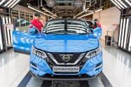 EU離脱に伴い、英国の製造業は受注減などに直面している(日産自動車の英サンダーランド工場)
