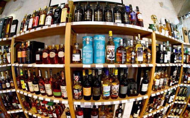 スコッチウイスキーが追加関税を避けて、米に空輸されている=ロイター